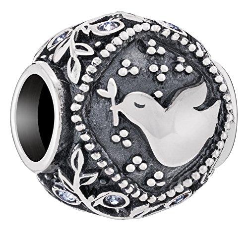 Chamilia Authentic Spiritual Totem Peace Bead | Charm ()