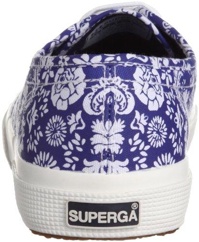 Superga - Zapatillas de deporte de lona para mujer Multicolore (Arabesque Navy)