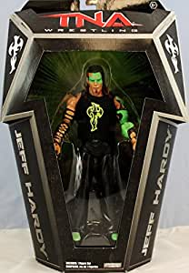 """""""GLOW PAINT"""" JEFF HARDY - RINGSIDE COLLECTIBLES EXCLUSIVE JAKKS PACIFIC TNA TOY WRESTLING ACTION FIGURE"""