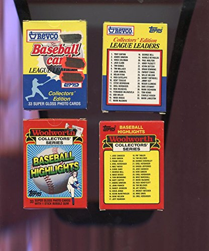 2-1988-topps-baseball-card-revco-league-leaders-complete-set-box-1989-woolworth
