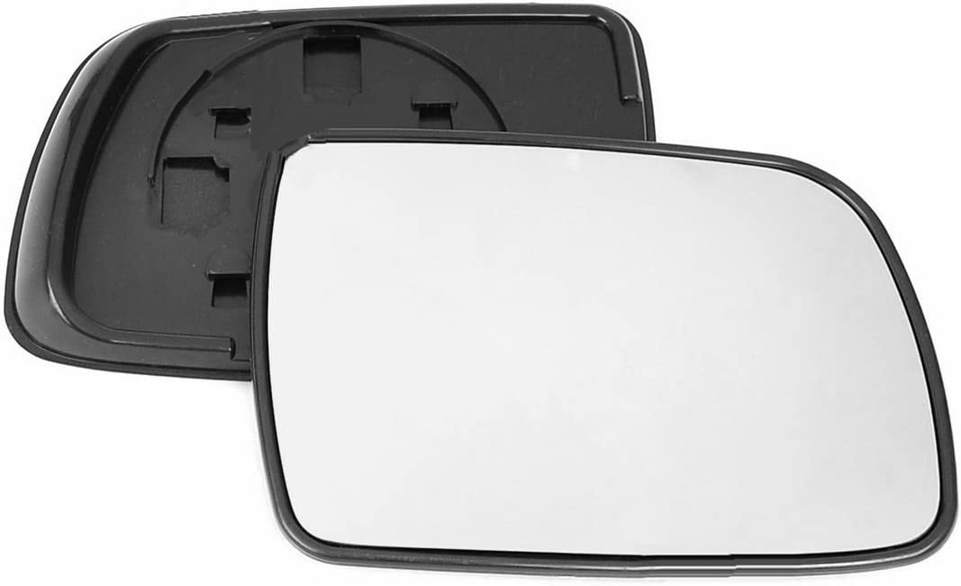 Driver right hand side Heated wing door Silver mirror glass with backing plate #C-SHY//R-JPGCE91 Clip On
