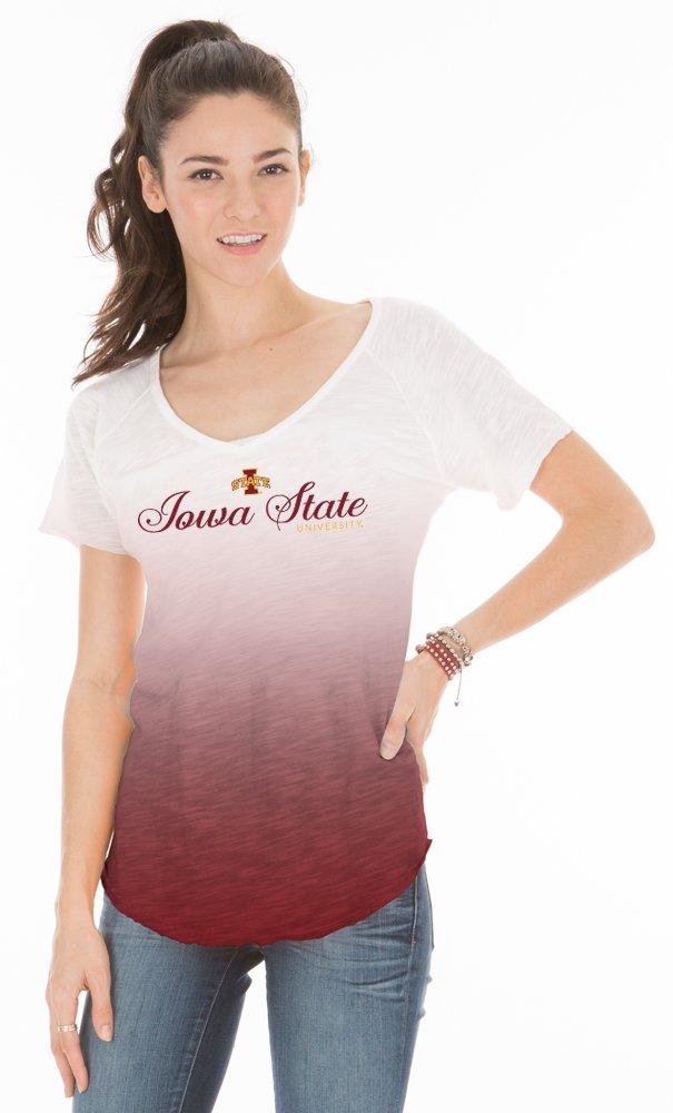 NCAA Women 's Jade長袖Football Jersey レッド B0105OJP7O