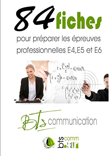 """Download Fiches """"Pro"""" Bts Communication (French Edition) ebook"""