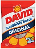 David Original Sunflower Seeds, 5.25-Ounce Bags (Pack of 48)