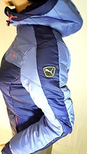 Puma Veste d'hiver Femme Bleu Denim étanche warmcell Veste Veste de ski Taille XS S M L XL