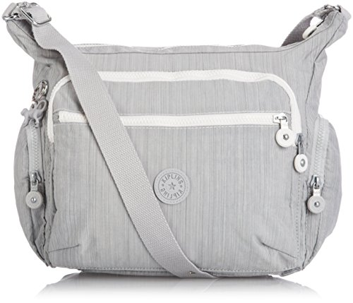 Kipling Women's Gabbie Sw Shoulder Bag One Size Dazz Grey Swt by Kipling
