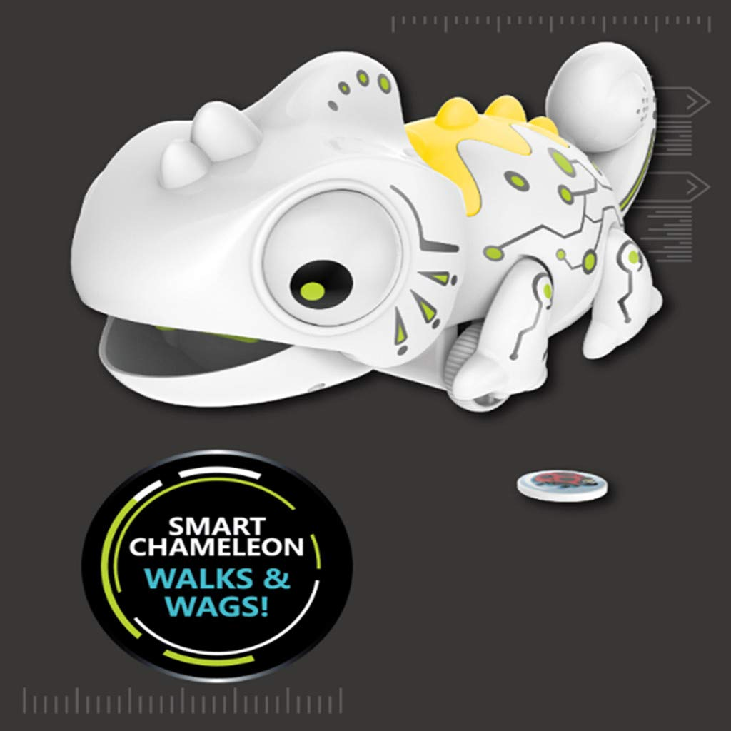 Creazy Smart Chameleon Robotic Can Eat Things Function Cute Toy Electronic Pets by CreazyDog toy (Image #2)