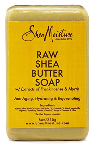 Shea Moisture Soap 8 Ounce Bar Raw Shea Butter (235ml) (6 -
