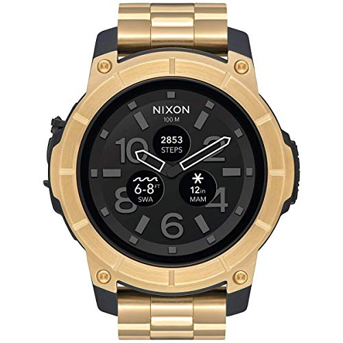 Nixon Mission SS Mission SS Smart Watch Watch Men's/Women's Gold NA1216501-001J [Regular Imported Goods]