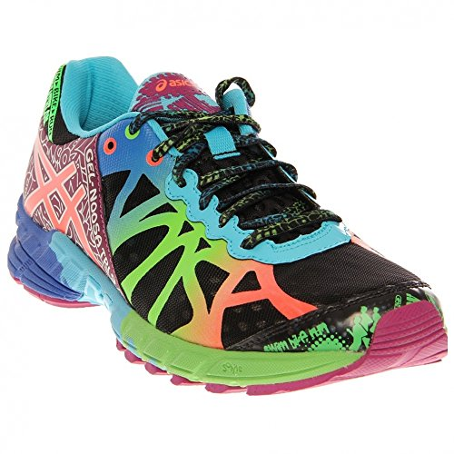 Asics Women S Gel Noosa Tri 9 Running Shoe Black Neon