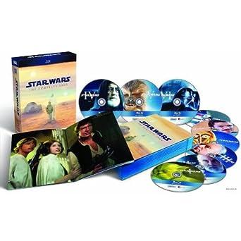 Star Wars: Complete Saga I, II, III, IV, V & VI Blu-Ray: Amazon.es: Cine y Series TV