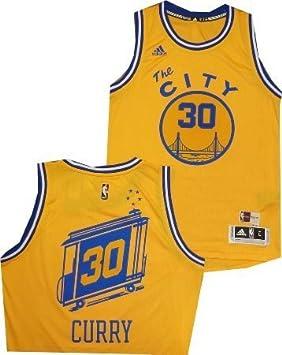 409b7ff250f adidas Stephen Curry Golden State Warriors Hardwood Classics 7412A Swingman  Jersey (Medium)