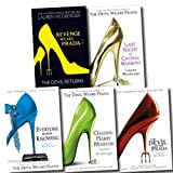 The Devil Wears Prada Collection Lauren Weisberger 5 Books Set (Revenge Wears Prada: The Devil Returns, Chasing Harry Winston, Everyone Worth Knowing, Devil Wears Prada, Last Night at Chateau Marmont)