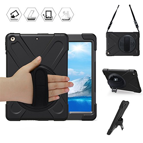 iPad Case for 2/3/4, Tablet Case Stand Kickstand Hand Strap