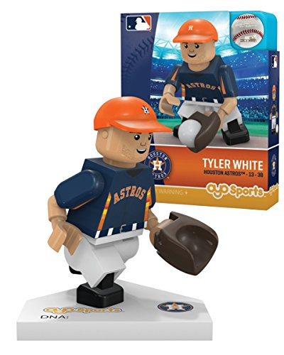 - Oyo Sportstoys MLB Los Angeles Dodgers Houston Astros Tyler White Limited Edition Minifigure, Small, White