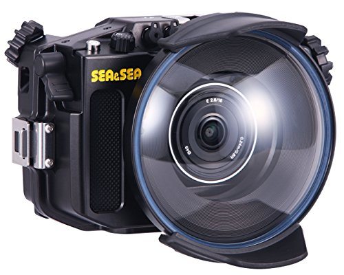 Sea and Sea MDX-a6000 Housing, ML Dome Port, Zoom Gear & ML Extension Ring