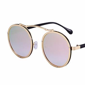XIAOGEGE El nuevo bastidor redondo gafas de sol mujer marea ...