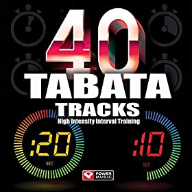 Amazon.com: 40 Tabata Tracks - High Intensity Interval Training (20
