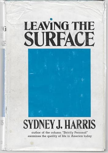 Leaving the surface,, Harris, Sydney J