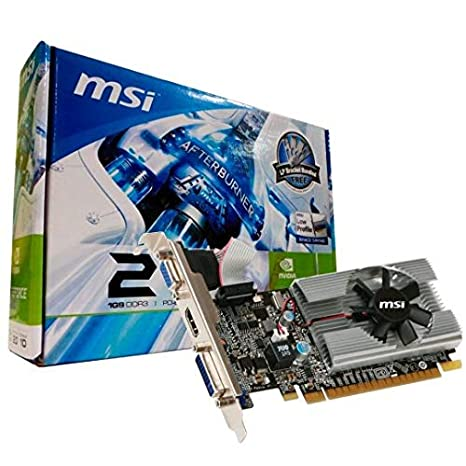 Amazon.com: MSI GeForce 210 1024 MB DDR3 PCI-Express 2.0 ...