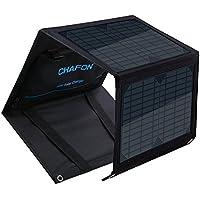 Chafon40W/0.053HpFoldingSolarPanelsChargersMono-Crystallinewith18VAviationDCOutputforBatteryUPSGenerator,5V/2A USBPort