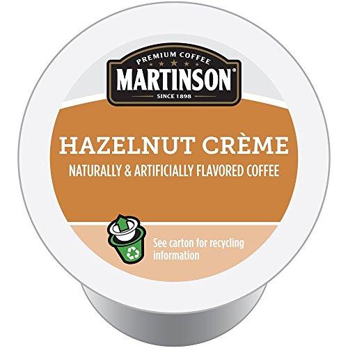 Martinson Single Serve Coffee Capsules, Hazelnut Creme, 24 Count