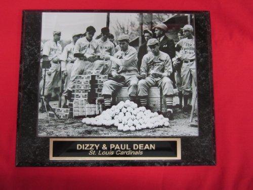 - Dizzy Dean Paul Dean St Louis Cardinals Collector Plaque w/8x10 VINTAGE Photo Signing Autographs!