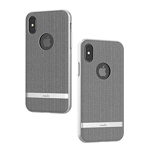 Moshi Vesta for iPhone X (Herringbone Gray)