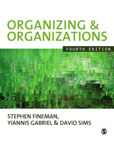 (Organizing & Organizations)