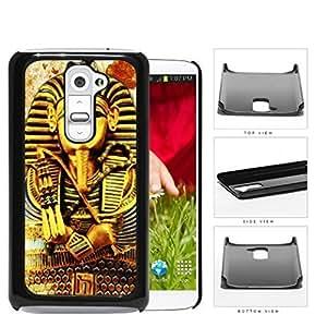 Ancient Egyptian Pharaoh King Tutankhamun Hard Plastic Snap On Cell Phone Case LG G2
