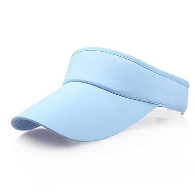 31d9a1fad14 Transer  Men Women Sport Headband Classic Sun Visor Hat Sandwich Peak Golf  Tennis Cap (H)  Amazon.co.uk  Clothing