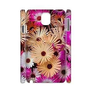 WUCG New Design Hard Back Case Cover for Samsung Galaxy Note 3 N9000, Customized Rainbow Daisy 3D Phone Case