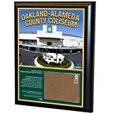 MLB Oakland Athletics Oakland Athletics 8x10-Inch Game Used Dirt Plaque Photomint