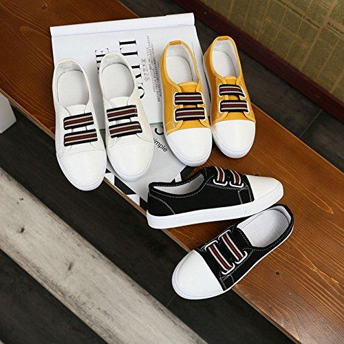 (クイブー)KUIBU レディーズ 超軽量 ファッション PU 柔らか 疲れにくい アウトドア インソール 日常着用通勤 通学 おしゃれ カラフルスポーツシューズ キャンパススケート カジュアル ランニングシューズ スニーカー 運動靴 シンプル