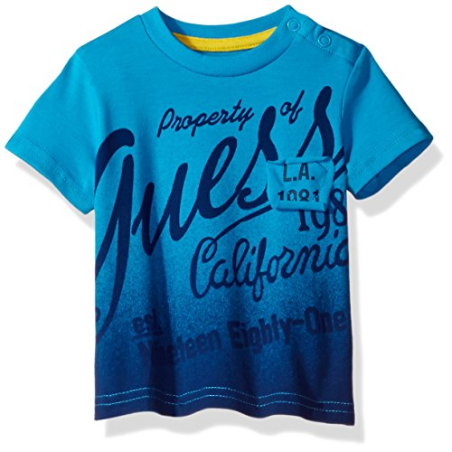 guess-baby-boys-short-sleeve-t-shirt-cerulean-blue-24m