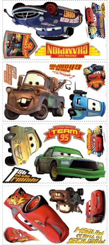 roommates-rmk1520scs-disney-pixar-cars-piston-cup-champs-peel-stick-wall-decal