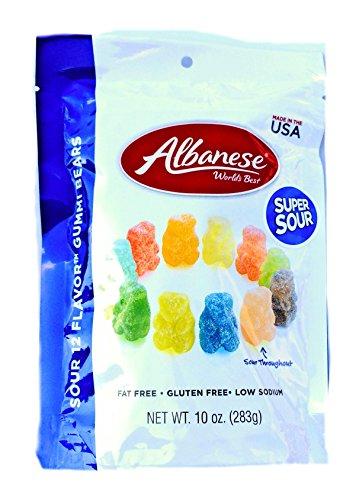 Albanese Sour Gummi Bears - 12 flavors, 10 oz.