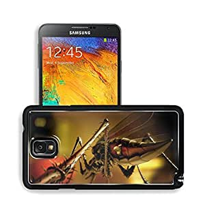 Artwork Mosquito Robit Bionic Switch Samsung Note 3 N9000 Snap Cover Premium Aluminium Design Back Plate Case Open Ports Customized Made to Order Support Ready 5 14/16 Inch (150mm) X 3 2/16 Inch (80mm) X 11/16 Inch (17mm) MSD N3 Note 3 Professional Cases