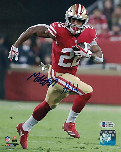 Matt Breida Autographed/Signed San Francisco 49ers 8x10 Photo BAS