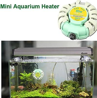 Rosa Lagarto SunSun Mini acuario peces tanque calentador ...