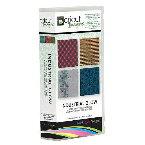 - INDUSTRIAL GLOW Cricut Imagine Color Pattern Print Machine Cartridge