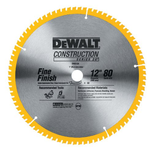 12 INCH 80T AND 10 INCH 40 T Circular Saw Blades