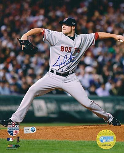 Autographed Jon Lester 8X10 Boston Red Sox ()