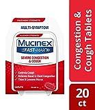 Mucinex Fast-Max Severe Congestion & Cough Caplets, 20ct