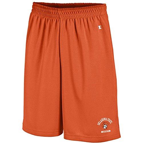 Champion NCAA Oklahoma State Cowboys Men's Men's Classic Team Mesh Short, Large, Orange