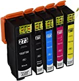 Generic Compatible Replacement 5 Packs for Epson 273XL