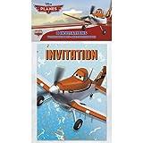 Disney Planes Invitations [8 Per Pack]
