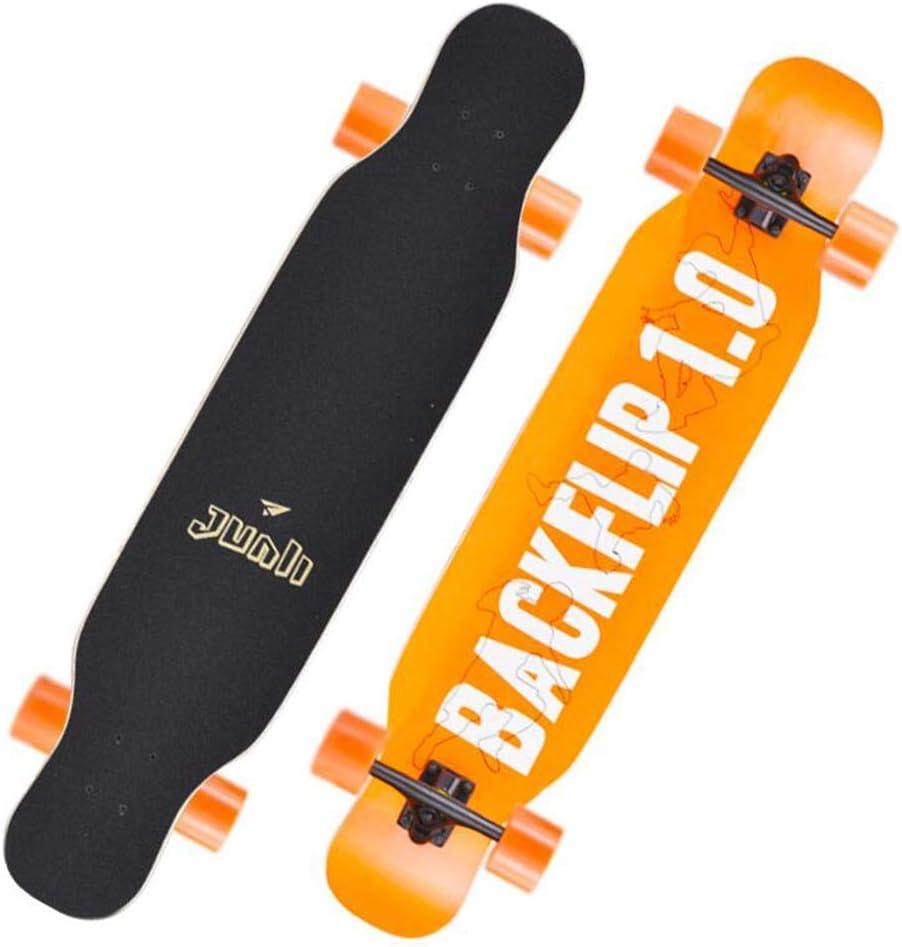 ZX スケートボード スケートボードのデッキ、大人の子供は初心者および専門家のための板8層ハードかえでのデッキの負荷を完了します スポーツ&アウトドア (Color : T17) T17