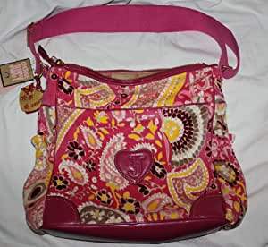 Juicy Couture Baby Diaper/stroller Bag Hot Pink