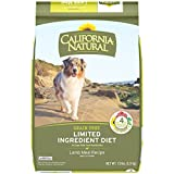 CALIFORNIA NATURAL Adult Limited Ingredient Grain Free Lamb Meal Recipe Dog Food 13 Pounds For Sale